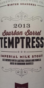 Bourbon Barrel Temptress