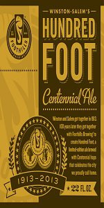 Hundred Foot Centennial Ale