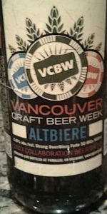 Vancouver Craft Beer Week Altbiere