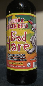 Bad Hare Ginger Beer