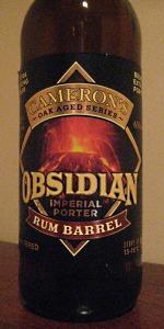 Obsidian Imperial Porter - Rum Barrel Aged