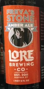 Freya's Stone Amber Ale
