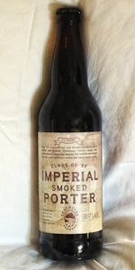 Great Lakes / Deschutes Class Of '88 Imperial Smoked Porter