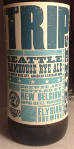 The Trip XVI (Farmhouse Rye Ale)