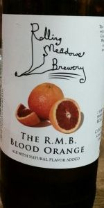 The R.M.B. Blood Orange