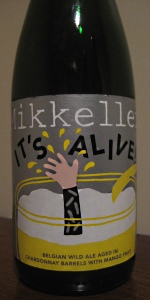 Mikkeller It's Alive! (Chardonnay-Barrel Aged With Mangoes)