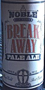 Break Away Pale Ale
