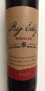 Big Eddy Ryewine Ale