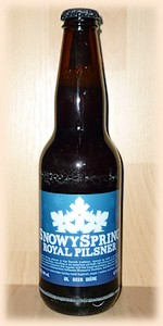 Dunham/Kissmeyer Snowy Spring Royal Lager