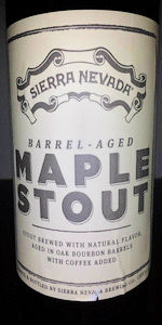 Barrel-Aged Maple Stout