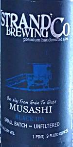 Musashi Black IPA
