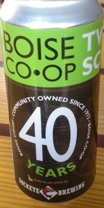 Two Score Ale (Boise CO-OP 40th Anniversary)