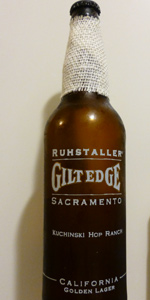 Gilt Edge Golden Lager