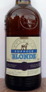 Suffolk Blonde (Sainsbury's Taste The Difference)