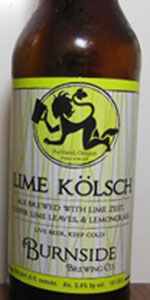 Lime Kölsch