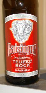 Baisinger Teufels Bock Hell