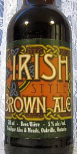 Trafalgar Traditional Irish Brown Ale