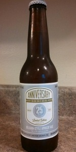 25th Anniversary Belgian-Style Apricot Ale