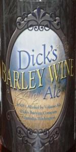 Dick's Barley Wine