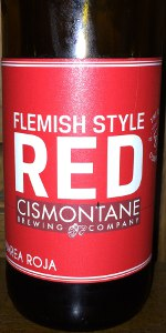 "Flemish Red ""Marea Roja"""