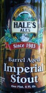 Hale's Barrel Aged Imperial Stout