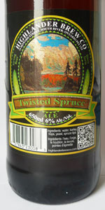 Twisted Spruce Ale