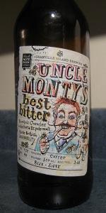Uncle Monty's Best Bitter