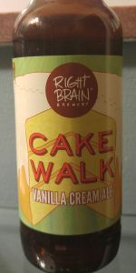 CakeWalk Vanilla Cream