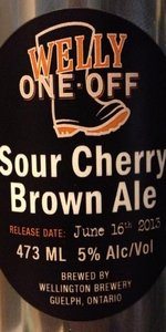 Sour Cherry Brown Ale