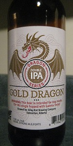 Dragon Series Gold Dragon Double IPA