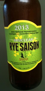 Bruclear Rye Saison