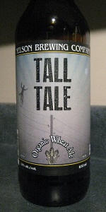 Tall Tale Organic Wheat Ale