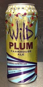 Wild Plum Farmhouse Ale