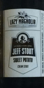 Jeff Stout Sweet Potato