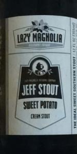 Jeff Stout Sweet Potato