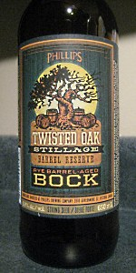Twisted Oak Stillage Rye Barrel-Aged Bock