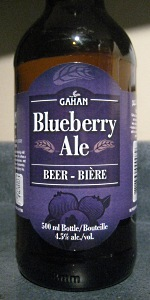 Gahan House Blueberry Ale