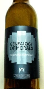 Genealogy Of Morals (Bourbon Barrel Aged)