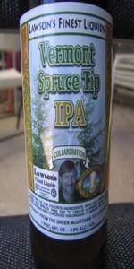 Lawson's / Vermont Pub & Brewery Spruce Tip IPA