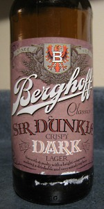 Sir Dunkle Crispy Dark Lager