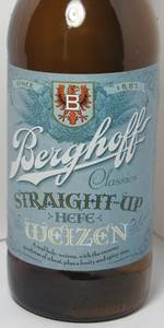 Straight-Up Hefeweizen
