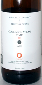 Maine Beer Company / Nøgne Ø Collaboration Time III