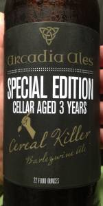 Arcadia Cereal Killer Special Edition Cellar Aged 3 Years