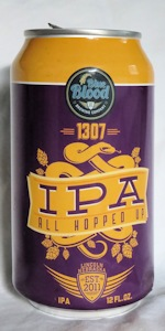 1307 All Hopped Up IPA