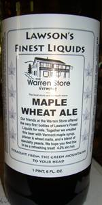 Maple Wheat Ale