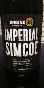 Simcoe Imperial IPA (Bourbon Barrel-Aged)