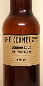 London Sour White Wine Barrel