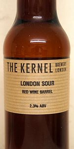London Sour Red Wine Barrel