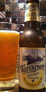 Waterfront Brewing Co. Blonde Ale