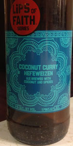 Lips Of Faith - Coconut Curry Hefeweizen